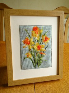 Daffodils Tapestry Needlepoint