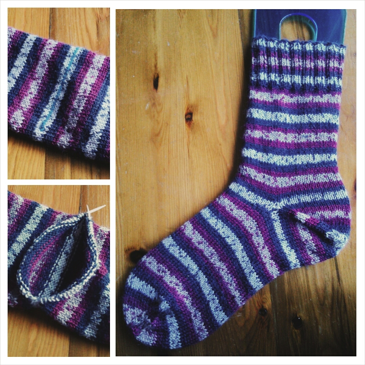 Afterthough heel