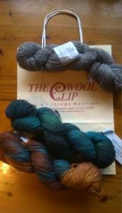 Wool from The Wool Clip ©Rachel Gibbs