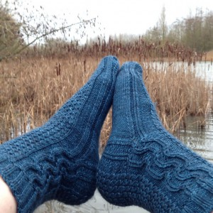 Seasalt socks by Jacqui Gouldbourn
