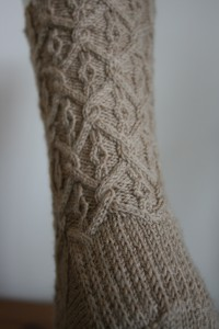 Back view of Regency Socks ©Rachel Gibbs