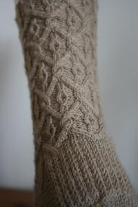 Back view of Regency Socks ©Rachel Gibbs