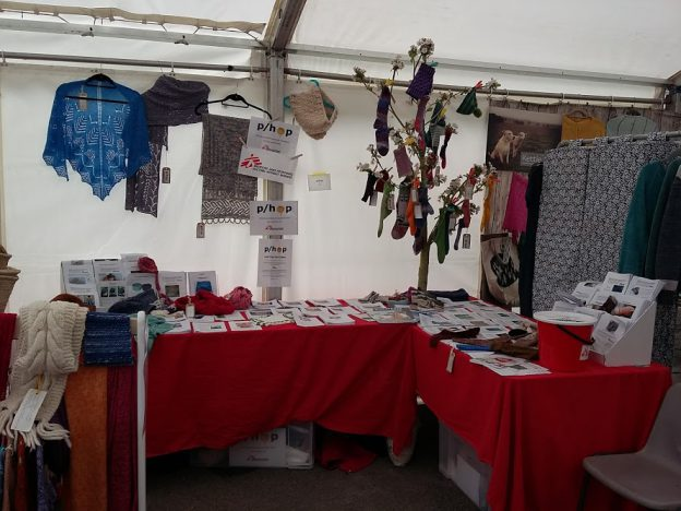 P/hop stall at Fibre East