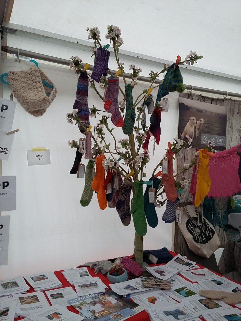The p/hop sock tree