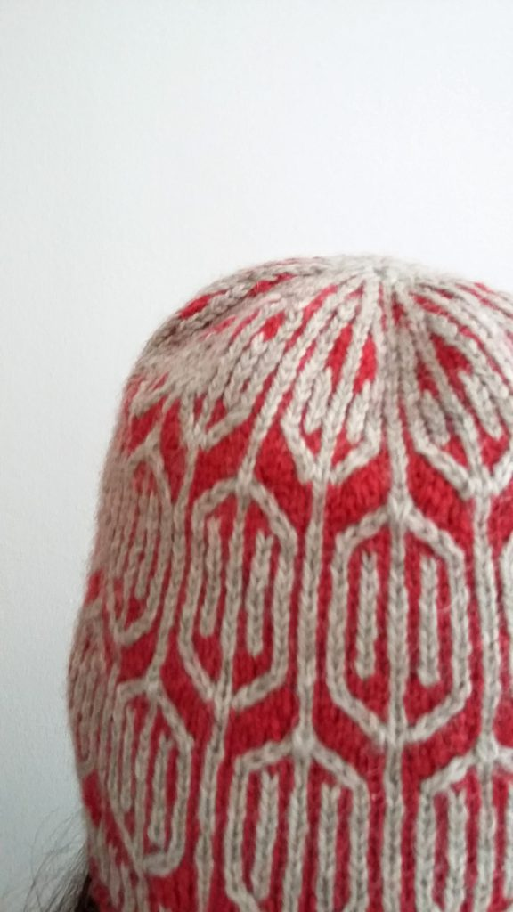 Funyin hat, back view