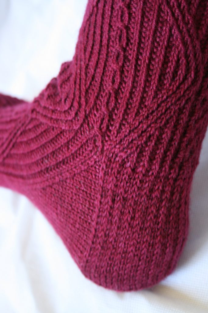 Flap and gusset heel