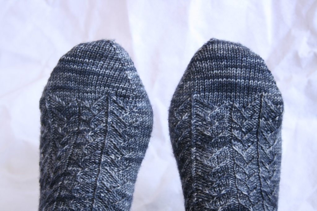 Toes of Pangolin Socks