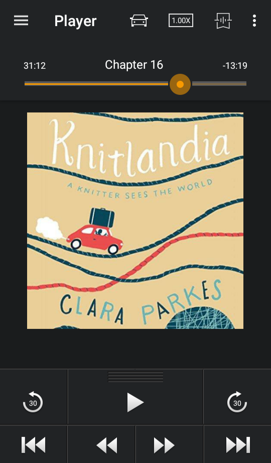 Knitlandia on Audible
